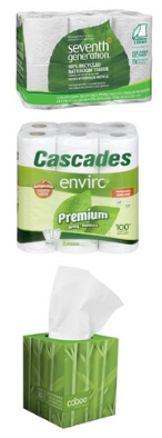 eco-friendly bathroom tissue