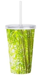 bamboo forest tumbler