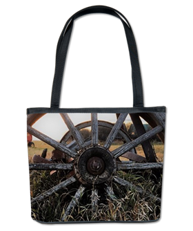 Wagon Wheel bucket bag