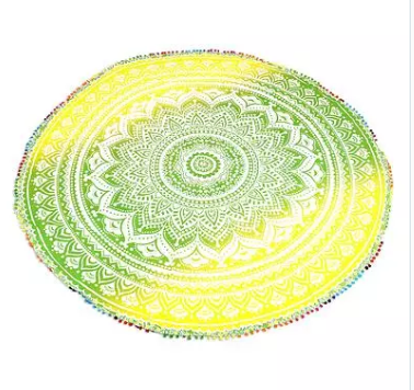 fair trade mandala blanket